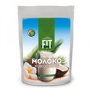 Молоко кокосовое сухое FitParad 90г (дойпак)