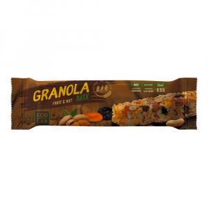 Granola Bar Fruit&Nut Mix (смесь злаков, миндаль,арахис,курага,чернослив
