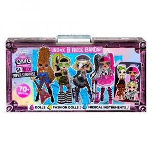 Набор L.O.L. Surprise! O.M.G. Unbox 2 Rock Bands