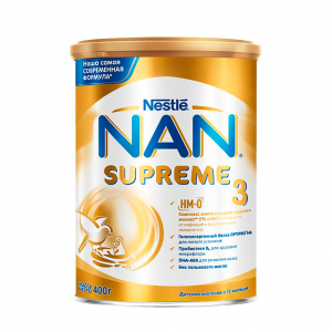 Сухая молочная смесь NAN 3 Supreme 400 гр