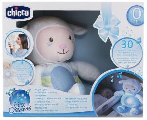 Игрушка Chicco Lullaby Sheep голубая