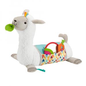 Подушка с игрушками Fisher - Price Tummy time Llama