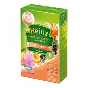Пудинг Heinz фруктовое ассорти в сливках 200 гр