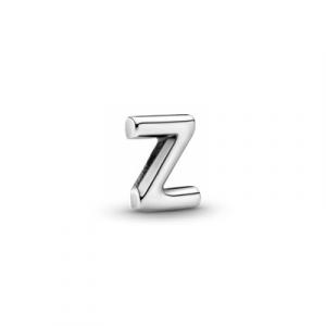 Letter Z silver petite element