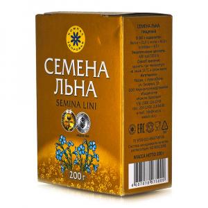 Семена коричневого льна Компас Здоровья 200гр