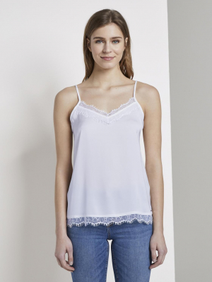 camisole top with la, sweet lavender, XS