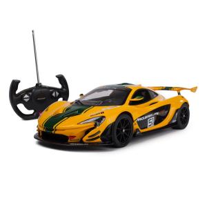 Машинка радиоуправляемая Rastar McLaren P1 GTR 1:14 Желтая