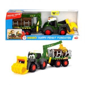 Машинка Dickie Toys Happy Fendt Лесовоз