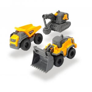 Набор Dickie Toys Volvo Строители 3 шт