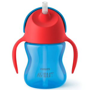 Чашка с трубочкой Philips Avent для мальчика 9м+ 200 мл