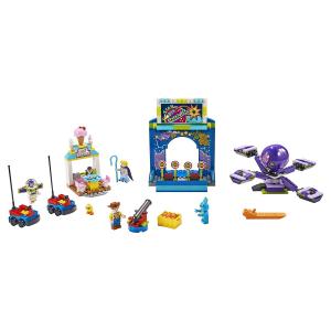 Конструктор LEGO 4+ Парк аттракционов Базза и Вуди 10770