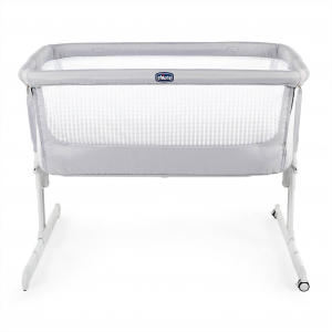 Кроватка детская NEXT2ME AIR DARK BEIGE  0м+