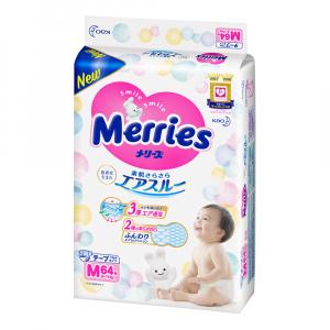 Подгузники для детей MERRIES размер М 6-11 кг 64 шт