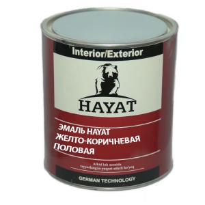 Эмаль Желто-коричневая HAYAT
