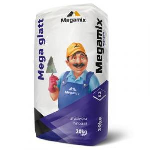 MEGAMIX Шпатлевка MEGA Glatt (уп. 20 кг)