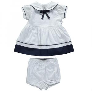 Платье с ленточкой с шортами (ELEGANT MARINE)