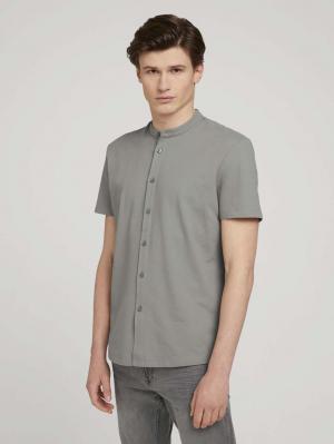 pique shirt, Greyish Shadow Olive, XXL