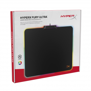 HyperX FURY Ultra RGB Mousepad Hard Surface