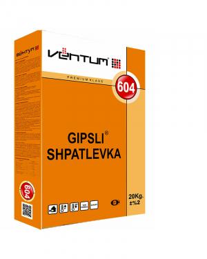 VENTUM Гипсовая шпатлёвка GIPSLI SHPATLEVKA - 604 упак.20кг