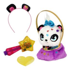 Игрушка Shimmer Stars Плюшевая панда с сумочкой