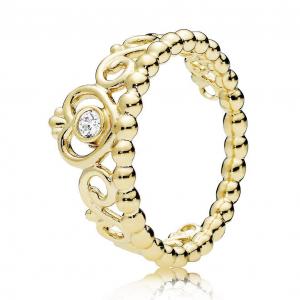 PANDORA Shine tiara ring with clear cubic zirconia