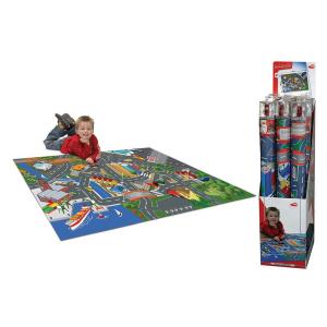 Набор DICKIE Toys с дорожными знаками + 1 машинка 100*140см
