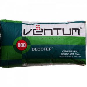 VENTUM Декоративная штукатурка - DECOFER (белый)