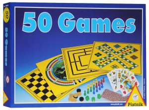 Настольная игра 50 игр piatnik