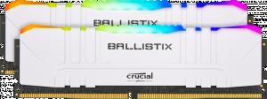 Crucial Ballistix RGB White 32GB (2*16GB 3000MHz CL15)