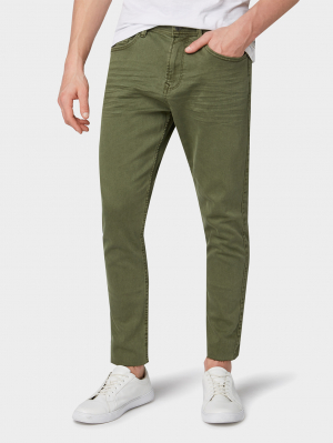 cropped CONROY co, Dusty Olive Green, 30