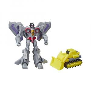 Фигурка Transformers Cyberverse Spark Armor Starscream And Demolition Destroyer