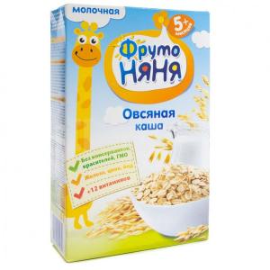 Каша Фрутоняня молочная овсяная 200 гр