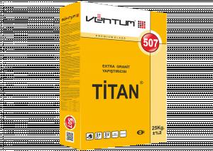 VENTUM Клей усиленный морозостойкий для объемных и тяжелых мраморных и гранитных плит  -  TITAN - 507 упак.25кг