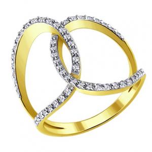 101 - Кольца с бриллиантом Н 1011300-2 золото 585°