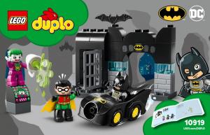 Конструктор LEGO DUPLO DC Comics Бэтпещера