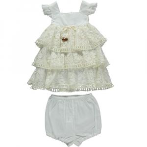 Платье с оборкой, с шортами (AUTHENTIC)