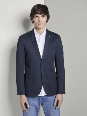 casual blazer, Black Iris Blue, 48