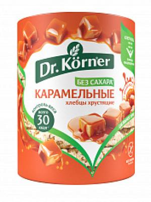 Хлебцы сладкие Korner Карамельные кукурузно-рисовые 90гр Без Глютена,Без сахара