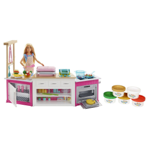 Набор Barbie Baking playset with сhef doll