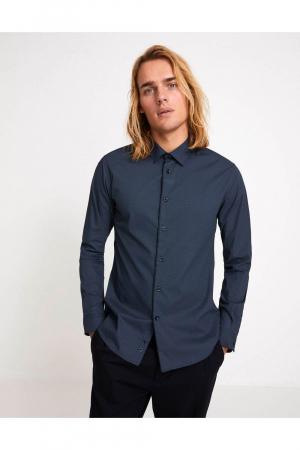 ML Print Cotton Shirt