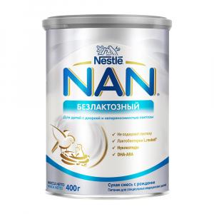 Смесь NAN безлактозная 400 гр