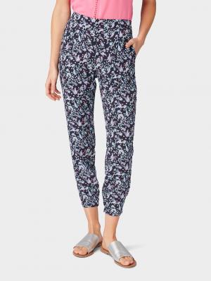printed pyjama, navy paisley design, 44