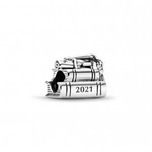 2021 graduation sterling silver charm