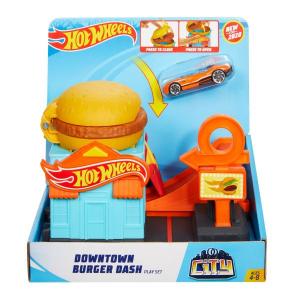Набор-трек Hot Wheels Burger dash