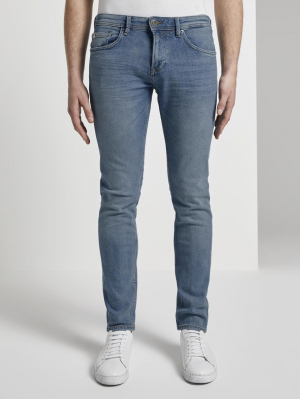 slim PIERS bri, bright blue denim, 28/32