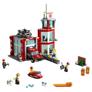 Конструктор LEGO City Пожарное депо