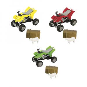 Машинка Teamsterz Farm Quad
