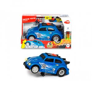 Машинка Dickie Toys VW Beetle Рейсинговый автомобиль