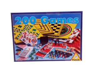 Набор настольных игр 200 в 1 + шахматы Piatnik