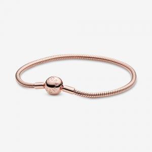 PANDORA Rose snake chain bracelet